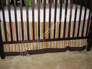 Nursery Handmade Crib Skirt