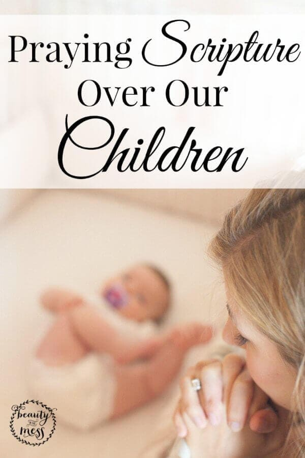 Praying Scripture Over Our Children -2