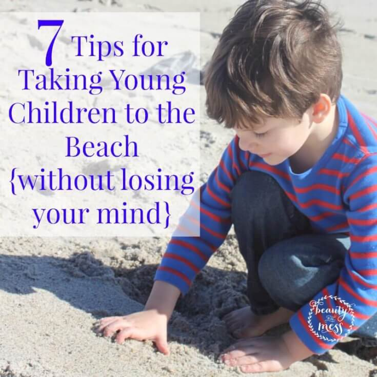 7 Tips for Taking Young Children to the Beach-2