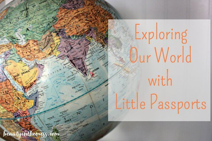 Exploring our world with Little Passports