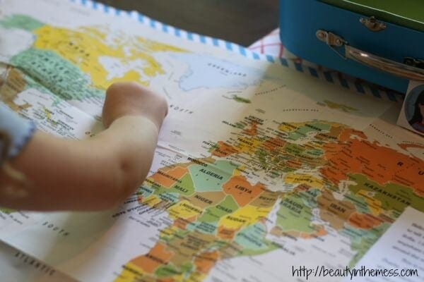 Little Passports Map