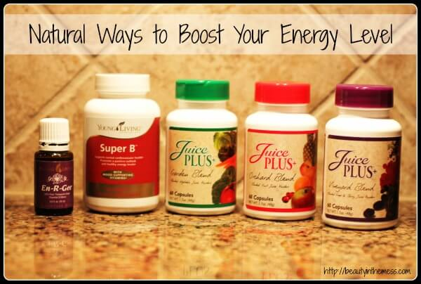 Natural Ways to Boost Your Energy Level