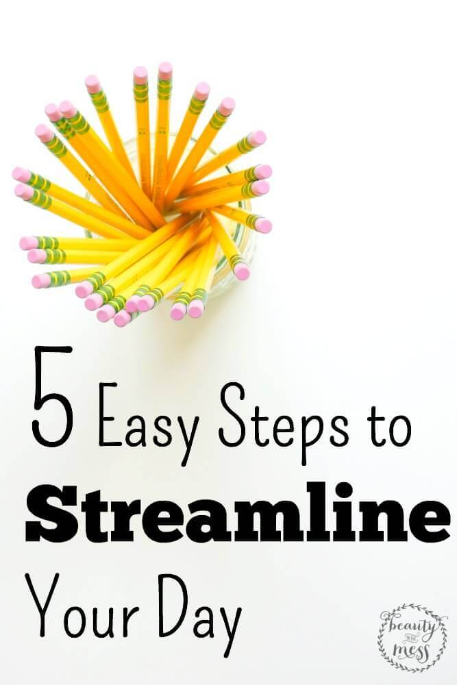 Streamline Your Day in 5 Easy Steps