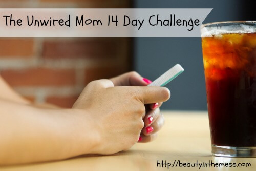 The Unwired Mom 14 Day Challenge