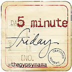 Five Minute Friday: See
