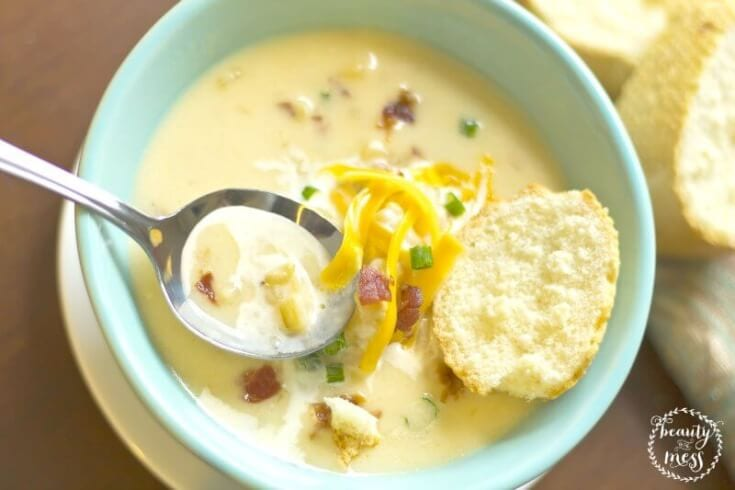 Delicious Warm and Cozy Potato Soup