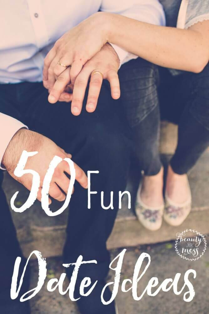 Instead of settling for dinner and a movie, add a little spark to your date night.  Check out these 50 fun date ideas!