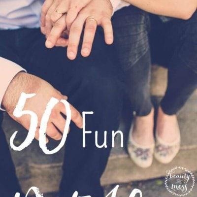 50 Fun Date Night Ideas