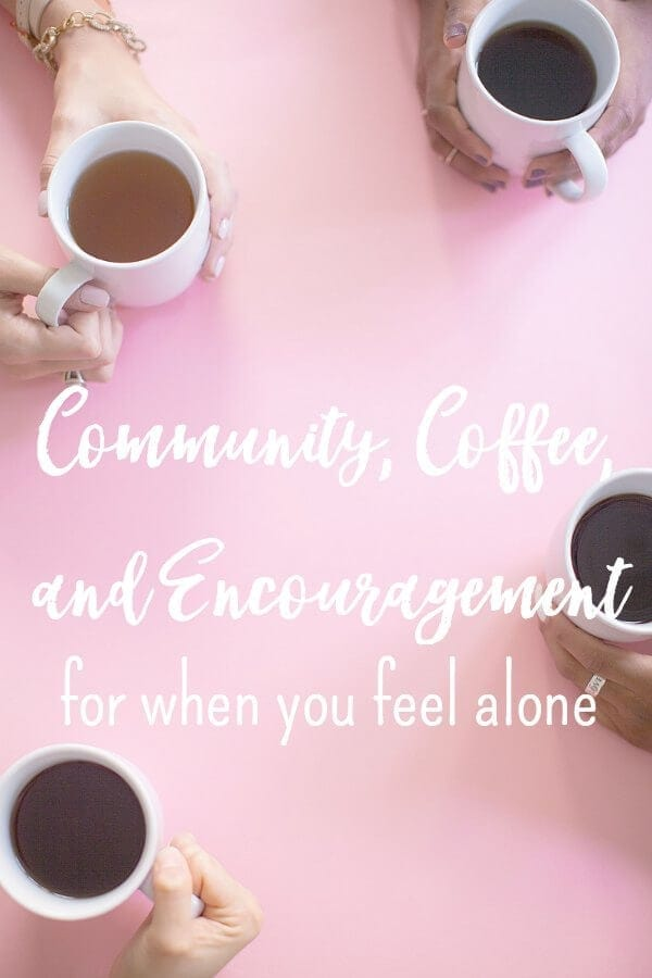 Community is something we all long for. To be known and loved are innate desires. There is something about having a group of people who will rally behind you and do life with you without judgement. Here's how to create community when you don't have it.  via @simplifyingfamily