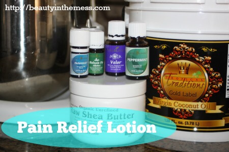 pain lotion