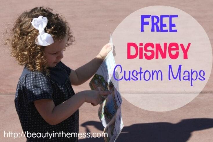 Free Disney Custom Maps