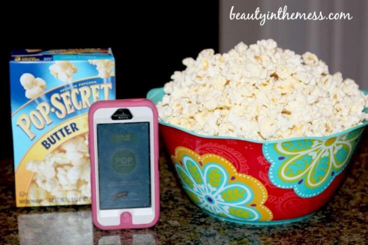 Pop Secret App Popcorn