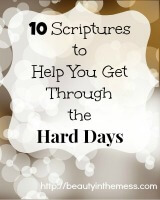 Small 10 Scriptures Hard Days