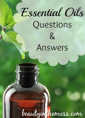 Essential Oils Questions and Answers