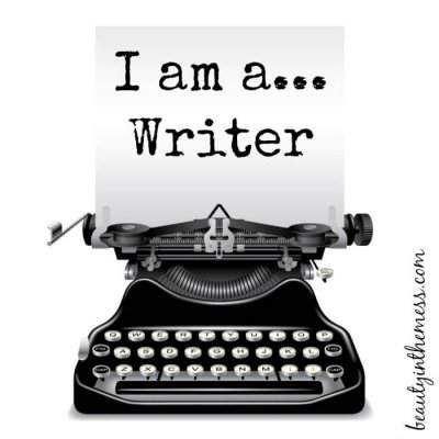 I am a…Writer {Blog Hop}