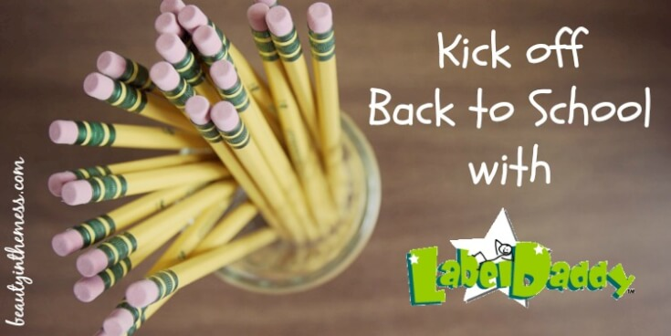 Kick Off Back to School with Label Daddy