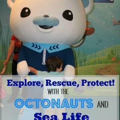 Disney Junior's Octonauts at Sea Life Aquarium