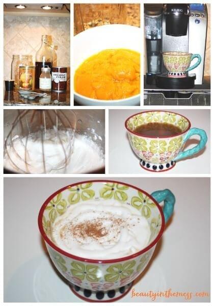 Pumpkin Chai Collage