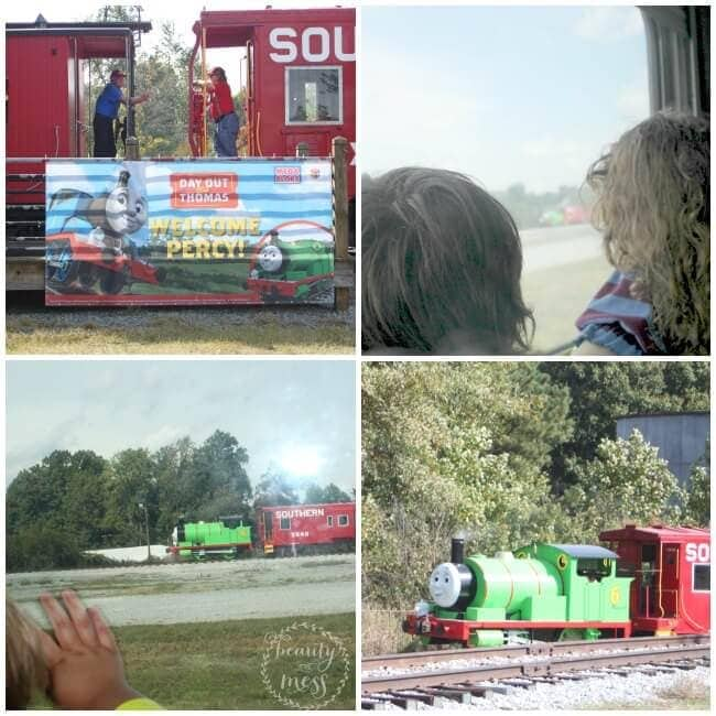 Day Out with Thomas Welcome Percy