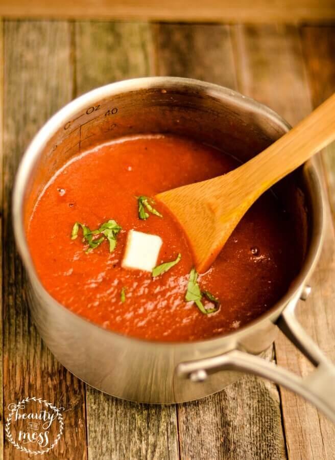 Tomato Basil Soup 2