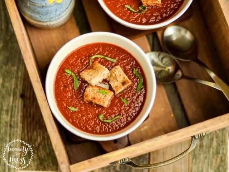 Tomato Basil Soup 3
