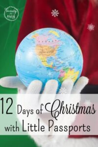 12 Days of Christmas with Little Passports
