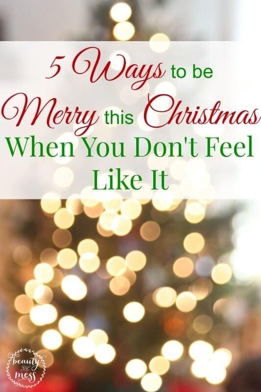 5 Ways Merry Christmas