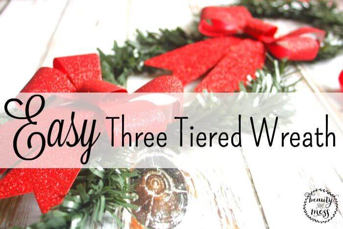 EASY THREE TIERED WREATH
