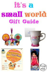 it's a small world Gift Guide