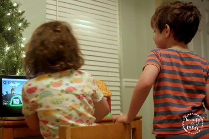 Sibling love Rosetta Stone Reading