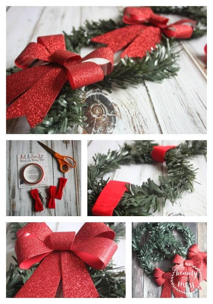 Wreath DIY Collage