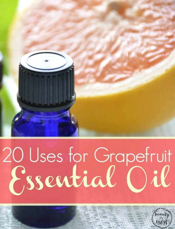 20 Uses for Grapefruit Essential Oil-2