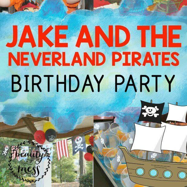 Jake and the Neverland Pirates Square-2