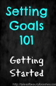 Setting Goals 101: Getting Started
