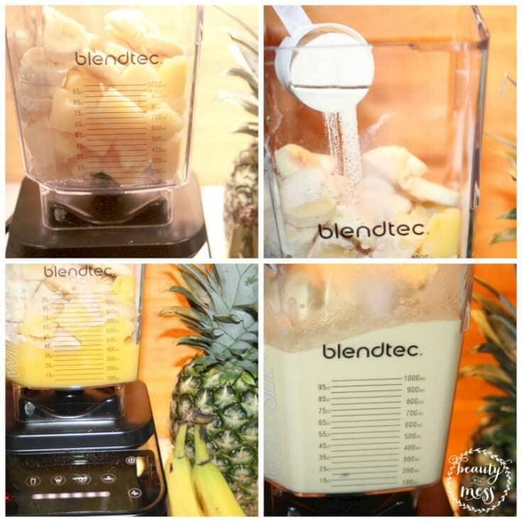 Blendtec Ingredients Collage