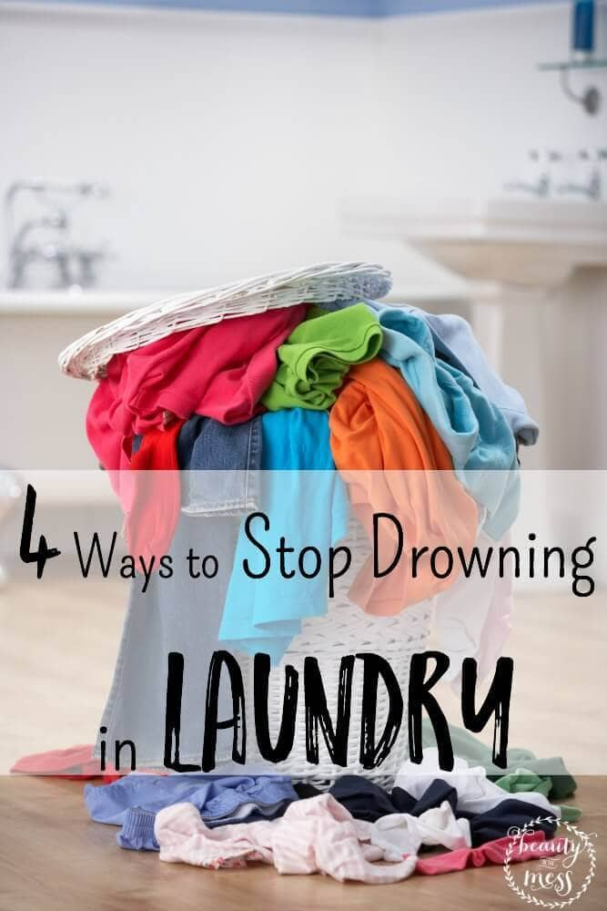 Stop Drowning in laundry