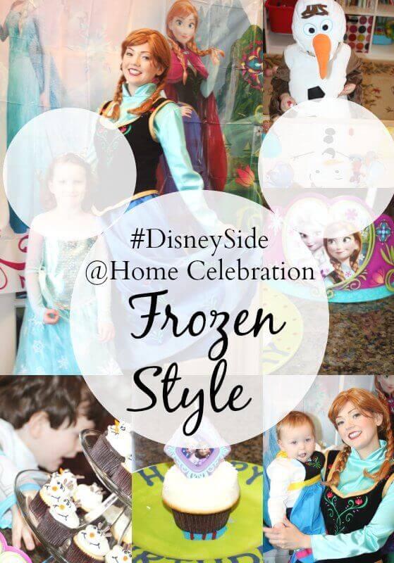 DisneySide Home Celebration Frozen-2