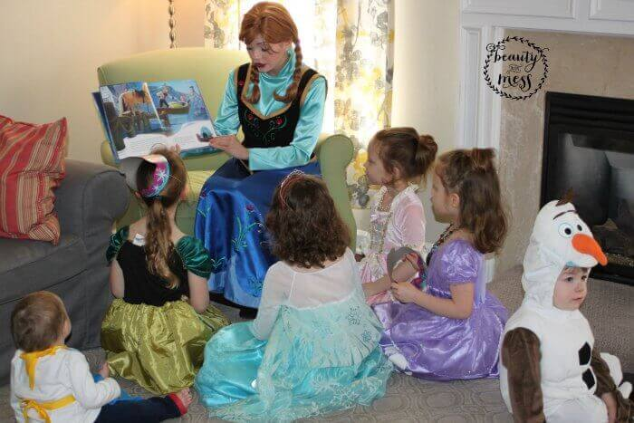Story time with Anna Frozen Birthday-2