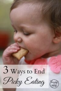 3 Ways to End Picky Eating