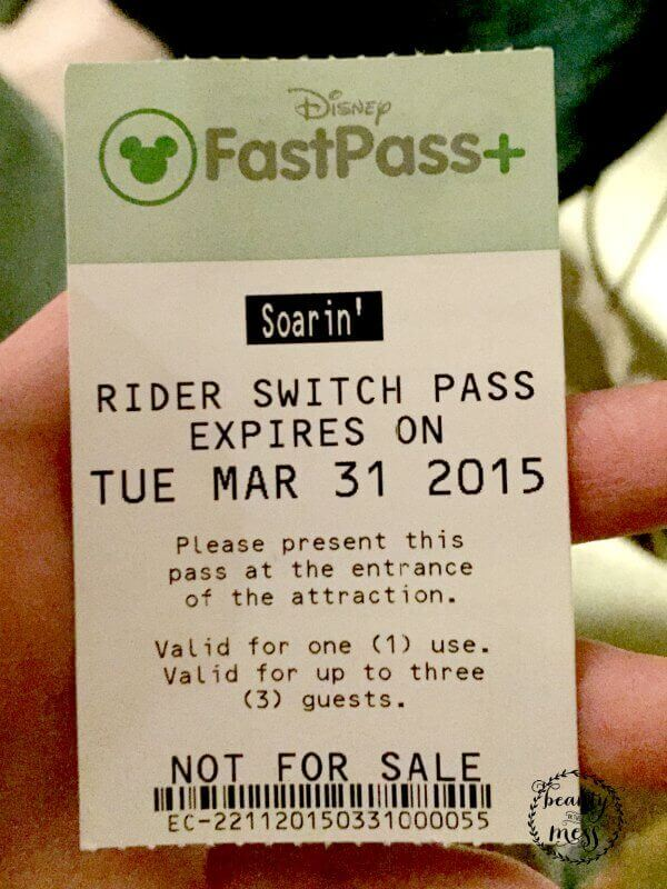 FastPass Rider Switch Pass-2