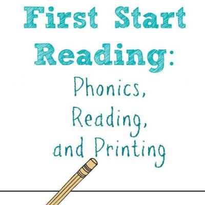 First Start Reading: Phonics, Reading, and Printing