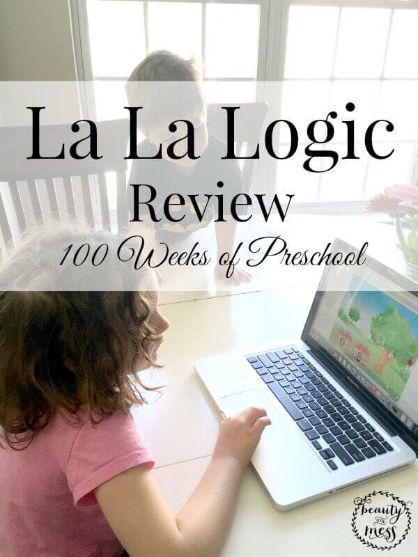 La La Logic Review 100 weeks of preschool-2