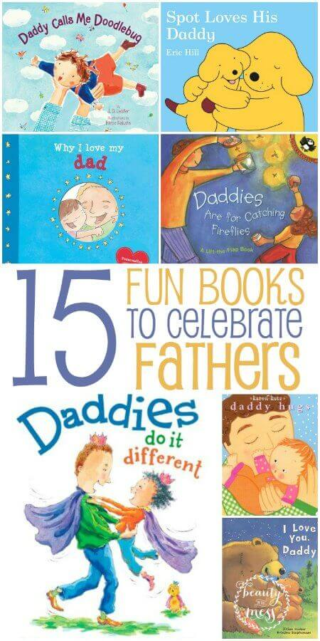 15 Fun Books to celebrate Fathers Day
