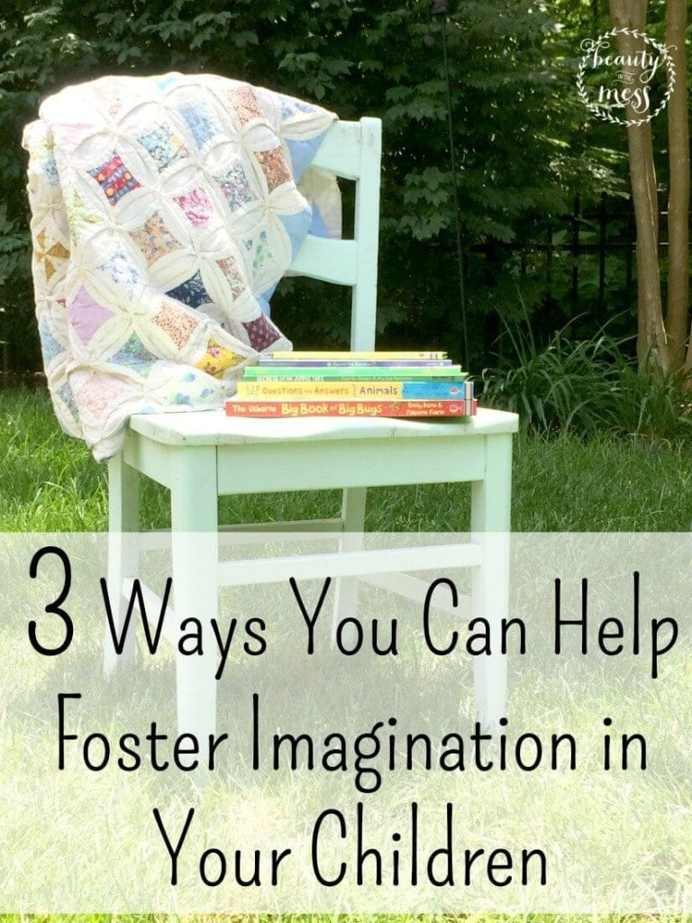 3 Ways You Can Help Foster Imagination in Your Children