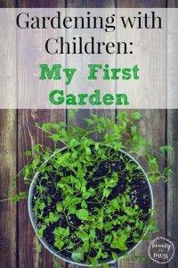 Gardening with Children My First Garden