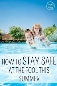 HOW TO STAY SAFE AT THE POOL THIS SUMMER