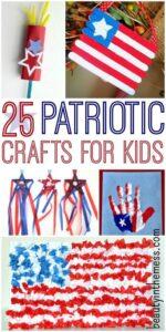 25 Patriotic Crafts for Kids