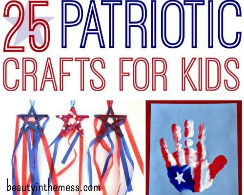 Patriotic Crafts for Kids for the 4th of July