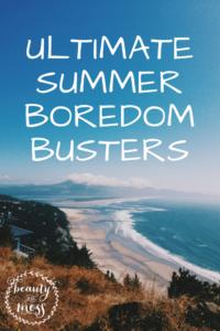 SummerBoredomBusters