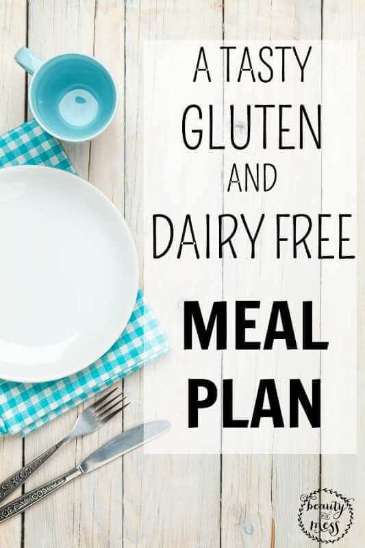A tasty gluten free and dairy free meal plan that is THM friendly which uses real food. To make your meal planning easier.